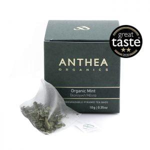 anthea organics mint plastic free tea bags