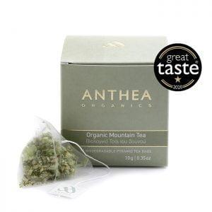 Anthea Organics Greek Mountain tea plastic free tea bags