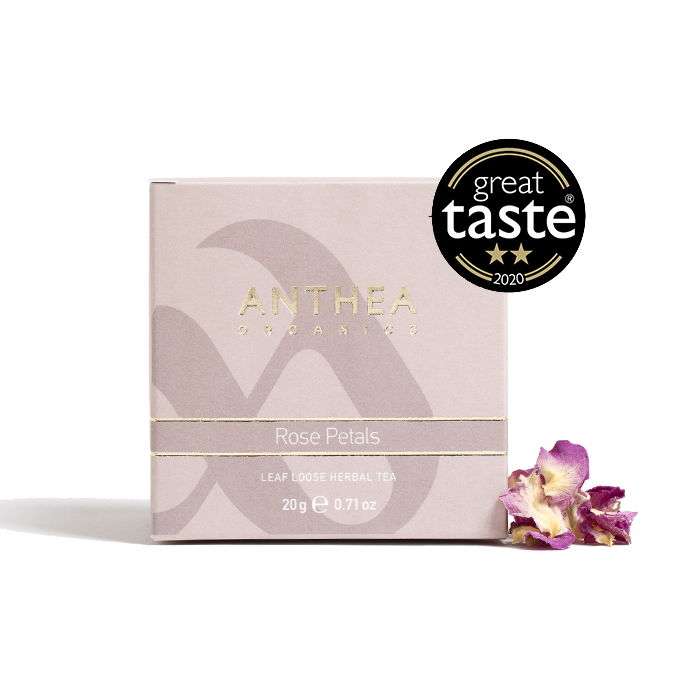 Organic rose pedals tea