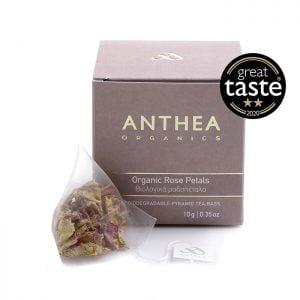 anthea organics organic rose petals plastic free tea bags