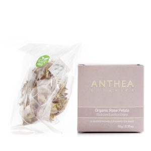 anthea organics rose petal plastic free tea bags